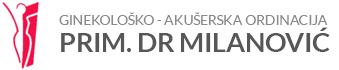 logo privatna ginekoloska ordinacija prim. dr milanovic banovo brdo